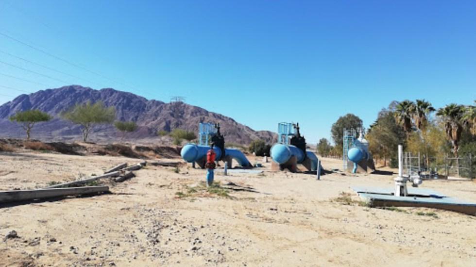 Cortan luz a acueducto que abastece de agua a Tijuana - Acueducto Río Colorado-Tijuana