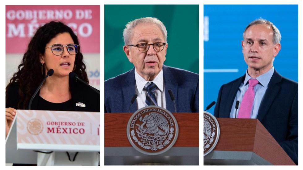 INAI ordena a UNAM revelar títulos de Luisa María Alcalde, Jorge Alcocer y López-Gatell - Alcalde Alcocer López-Gatell títulos