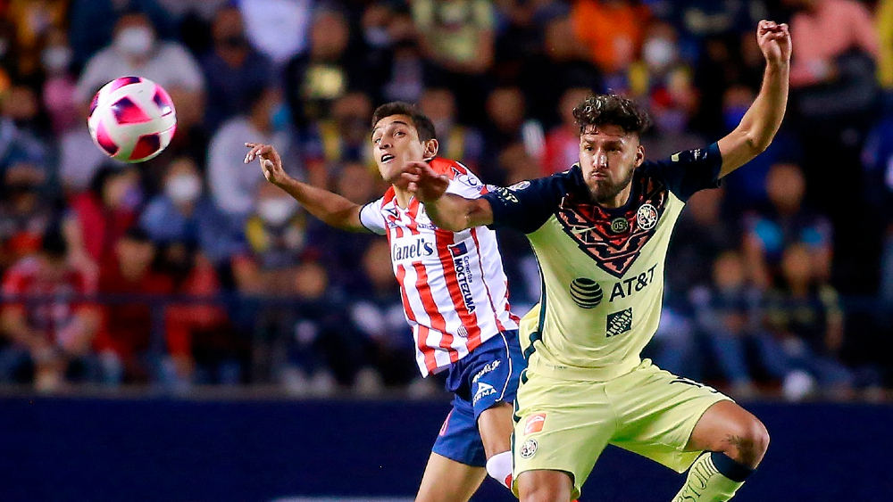 Con agónico gol de Roger Martínez, América se aferra al liderato - América San Luis