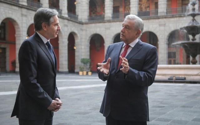 López Obrador extiende a Blinken una invitación para que Biden visite México - Anthony Blinken AMLO López Obrador