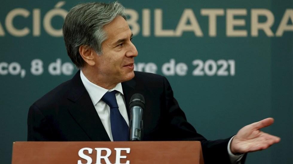 """EE.UU. afirma que la cooperación migratoria con México """"nunca había sido tan sólida"""" - Antony Blinken México Estados Unidos migración DANS"""