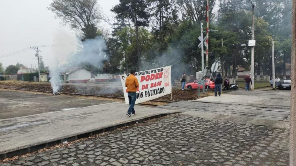 Bloqueo de CNTE a vías en Michoacán tienen impacto de 3 mil mdd: Kansas City Southern - Kansas City bloqueo vías Michoacán CNTE