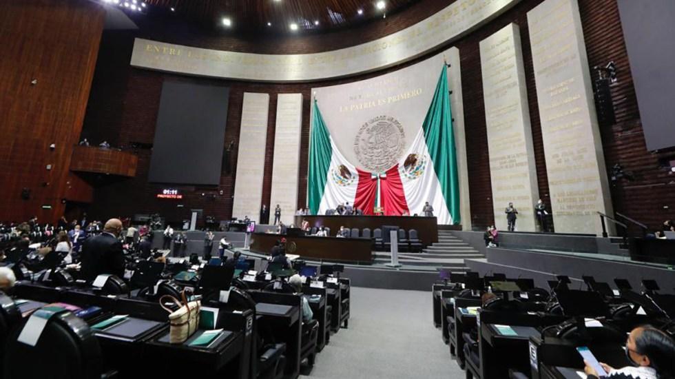 Se estanca discusión en San Lázaro por Miscelánea Fiscal 2022; decretan nuevo receso - Cámara de Diputados durante discusión de la Miscelánea Fiscal 2022