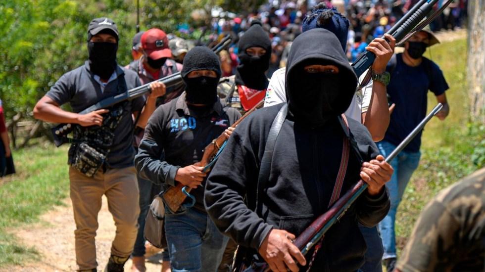 Nuevo grupo de civiles armados aparece en Altamirano, Chiapas - Chiapas grupo armado autodefensas México