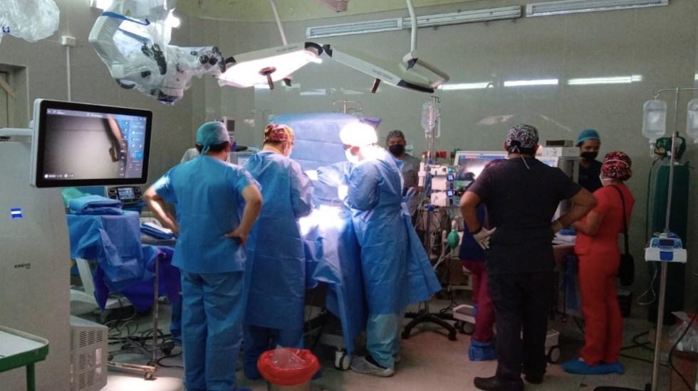 Separan a siameses unidos por la cadera tras 7 horas de cirugía - Separan a siameses unidos por la cadera tras 7 horas de cirugía en Perú. Foto de Ministerio de Salud Perú