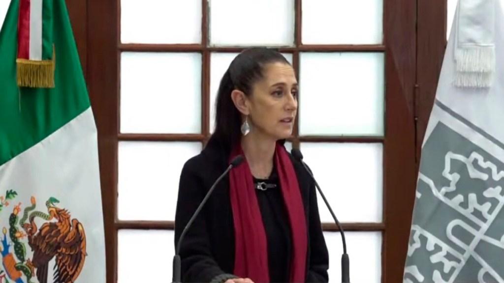 Sheinbaum defiende encuesta dentro de Morena para suceder a López Obrador - Claudia Sheinbaum