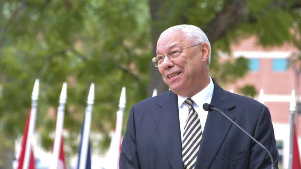 Murió Colin Powell, primer secretario de Estado afroamericano de EE.UU. - Colin Powell