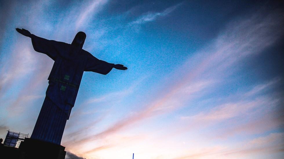 Cristo Redentor de Río conmemora sus 90 años aislado por COVID-19 y lluvias - Cristo Redentor de Río de Janeiro, Brasil