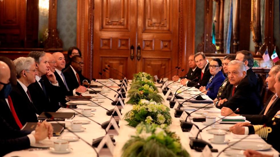 Declaración conjunta para el Diálogo de Alto Nivel de Seguridad entre México y Estados Unidos - Declaración Conjunta para el Diálogo de Alto Nivel de Seguridad entre México y Estados Unidos. Foto: SRE.