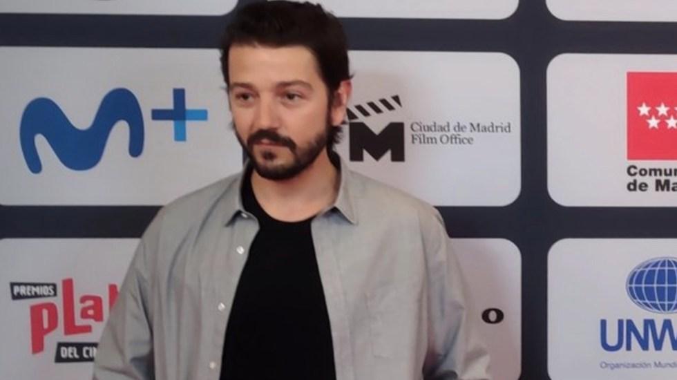 Diego Luna pide unidad iberoamericana para contar historias al mundo - Diego Luna reclama unidad iberoamericana para contar sus historias al mundo. Foto de Premios Platino