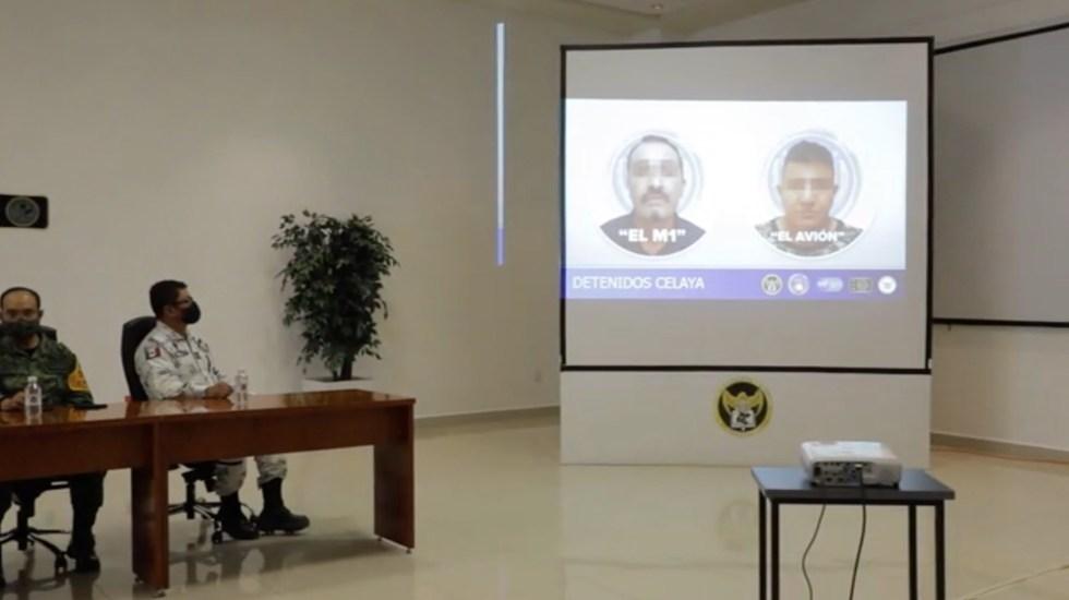 Capturan al 'M1', presunto líder del CSRL; se le relaciona con 50 ejecuciones - Capturan al 'M1', presunto sucesor de 'El Marro'; se le relaciona con 50 ejecuciones. Foto tomada de video