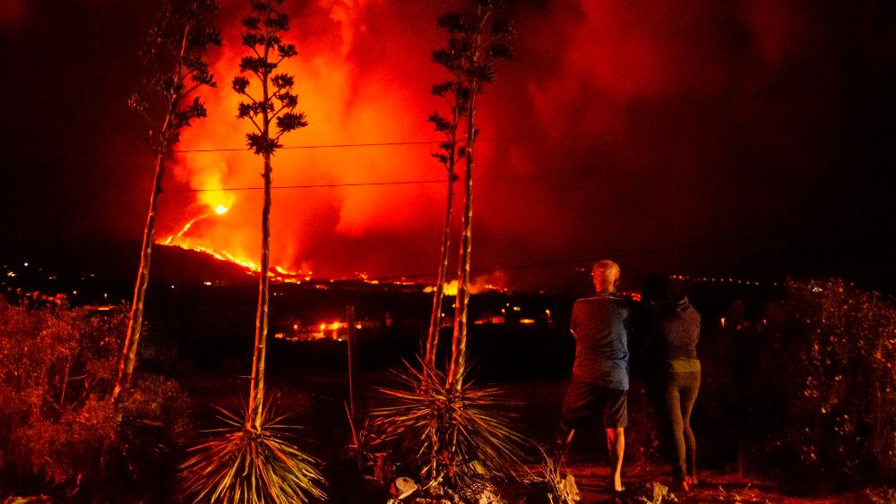erupción volcán Cumbre Vieja La Palma España