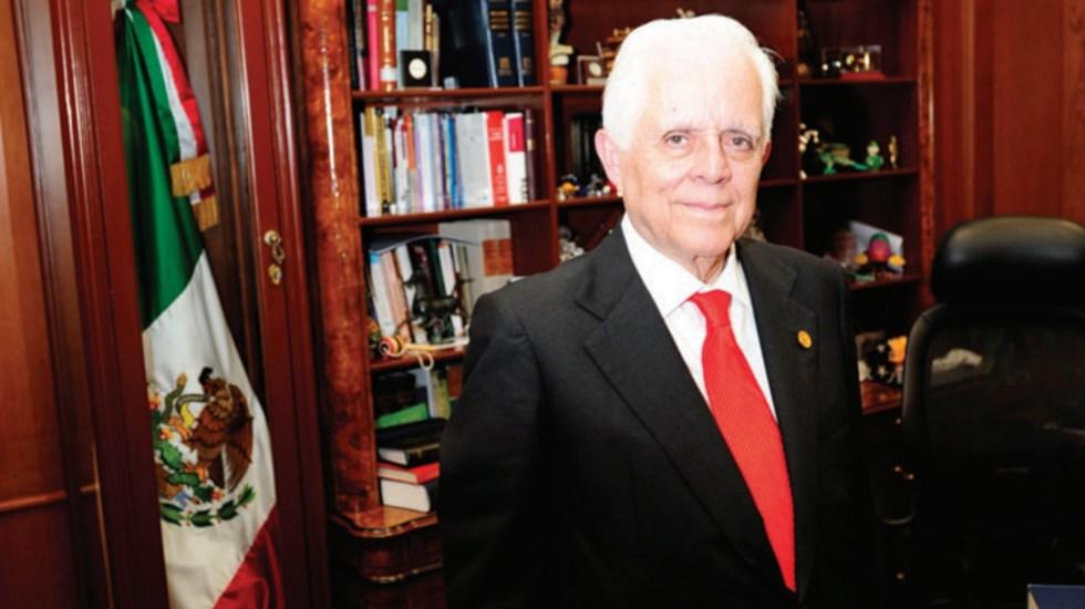 Exministro Góngora Pimentel promueve amparo; juzgado no admite a trámite - Genaro Góngora Pimentel Genaro David Góngora Pimentel SCJN Amparo
