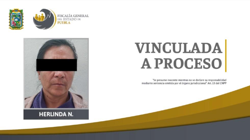 Vinculan a proceso en Puebla a mujer que quemó a hija y nieta - Herlinda Puebla agresión hija nieta