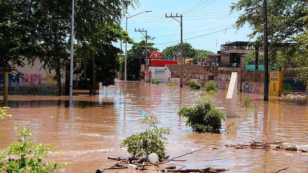 Huracán Pamela deja más de 10 mil damnificados en el Pacífico mexicano - huracán Pamela Nayarit