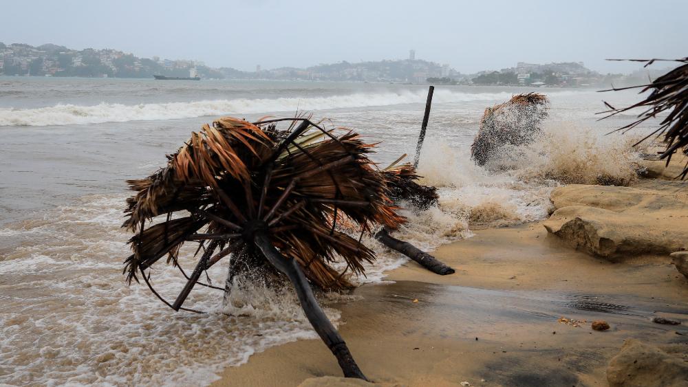 Por huracán Rick, se pronostican lluvias torrenciales en Guerrero y Oaxaca - huracán Rick Guerrero