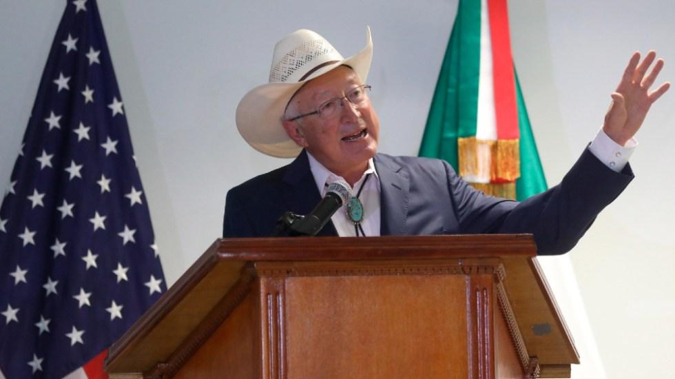 Embajador de EE.UU. encauza relación con México tras turbulenta llegada - Ken Salazar embajador EEUU México