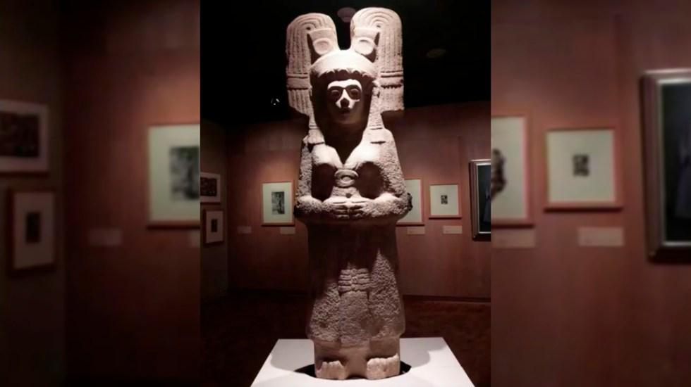 """""""La joven de Amajac"""" sustituirá Monumento a Colón en Paseo de la Reforma - La joven de Amajac"""