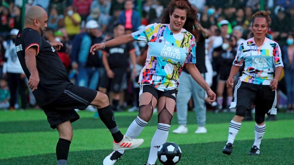 Las Gardenias, un equipo de fútbol de mujeres trans en Tepito - Las Gardenias Equipo Futbol trans tepito