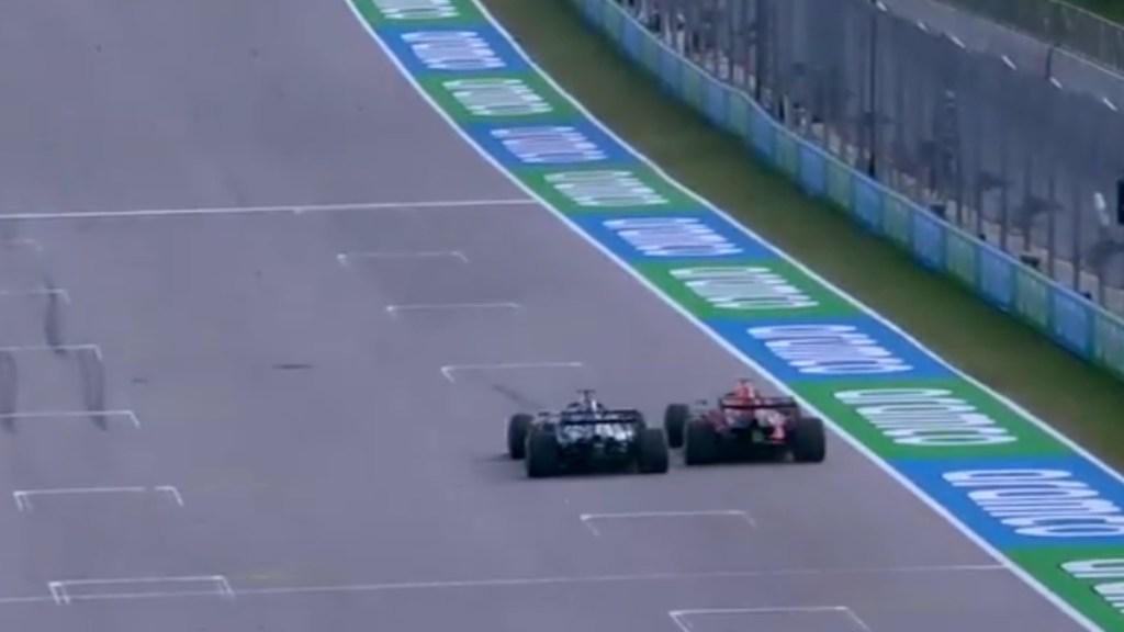 """""""Estúpido idiota"""", el encontronazo entre Verstappen y Hamilton en sesión libre - Verstappen Hamilton"""