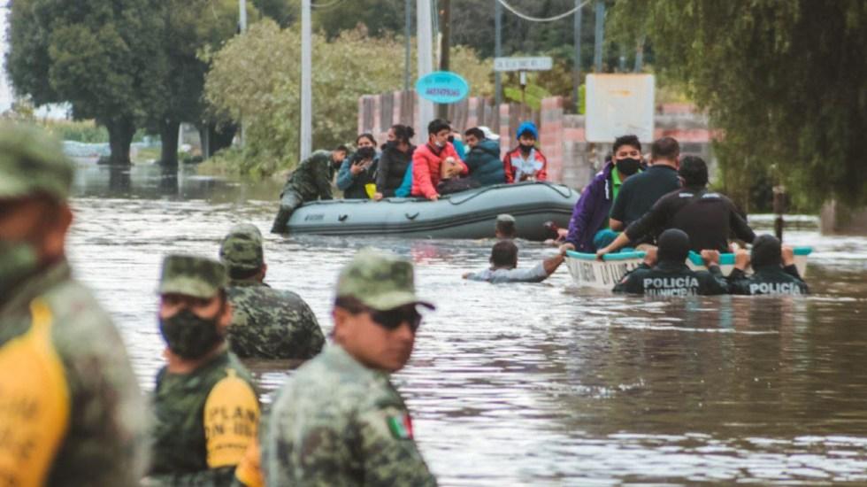 Emiten en Querétaro declaratoria de emergencia en dos municipios tras afectaciones por lluvia - Foto de Presidencia Municipal San Juan del Río