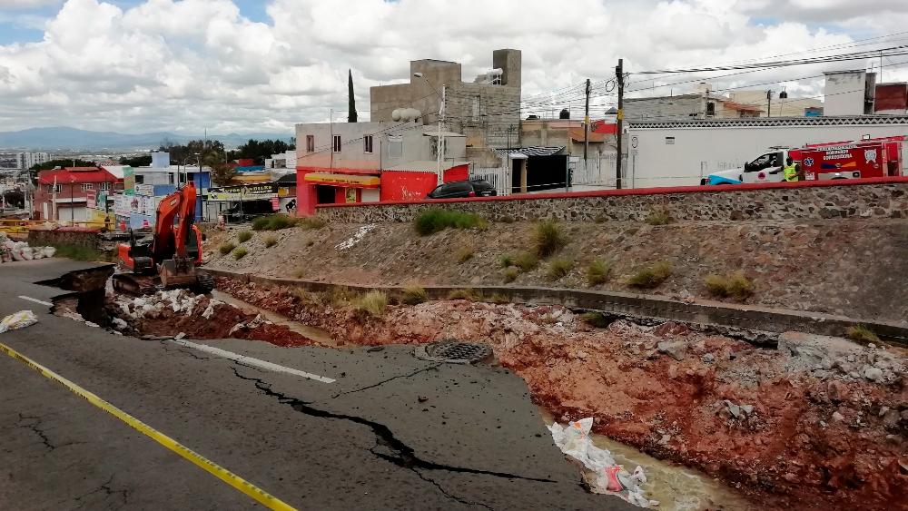 Cuatro muertos por las intensas lluvias e inundaciones en Querétaro - Lluvias Querétaro inundaciones octubre 2021