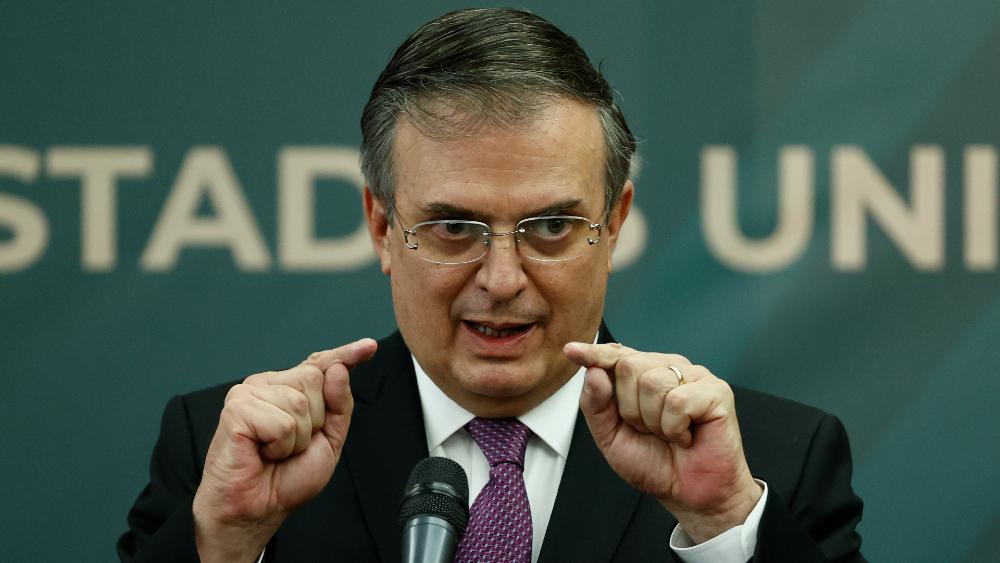 Marcelo Ebrard SRE
