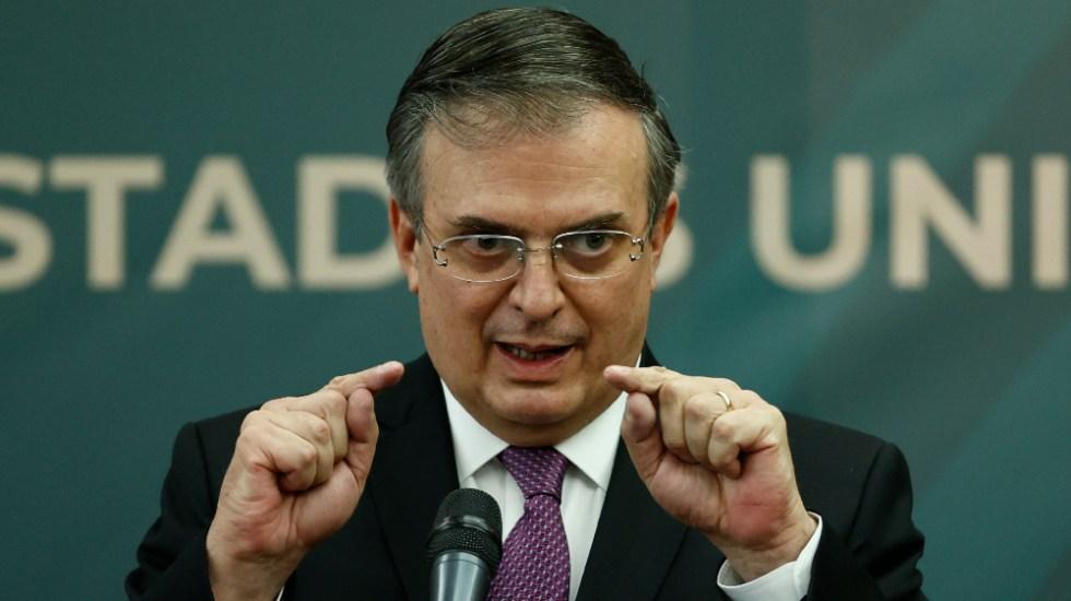 Marcelo Ebrard confirma que sí buscará la Presidencia en 2024 - Marcelo Ebrard SRE