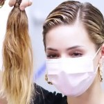 Mariana Rodríguez se corta el cabello en apoyo a niño con leucemia