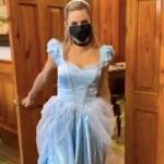 """""""Llega una princesa al palacio"""", Samuel García comparte video de Mariana Rodríguez disfrazada"""