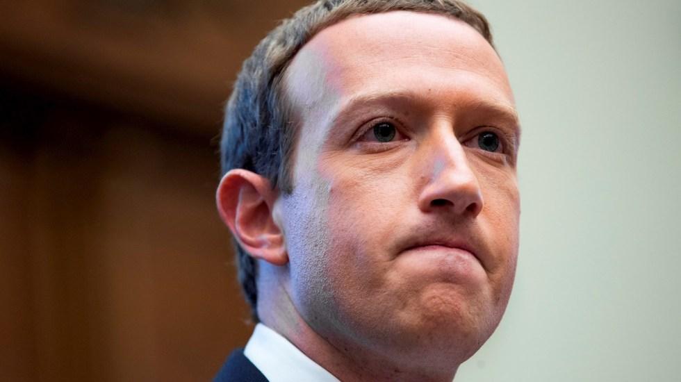 Zuckerberg pierde 5 mil 900 mdd tras la caída de Facebook - Mark Zuckerberg Facebook