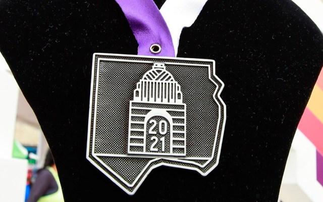 Medalla del XXXVIII Maratón de la Ciudad de México - Medalla del XXXVIII Maratón de la Ciudad de México