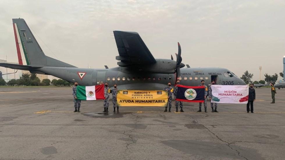 México dona 100 mil dosis de vacunas anticovid a Belice - México donación SRE vacunas Belice