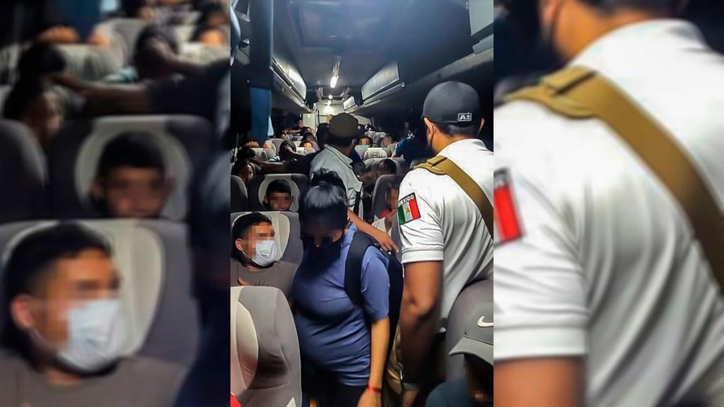 Detienen a más de 100 migrantes centroamericanos en Tabasco - Migrantes centroamericanos detenidos en Tabasco