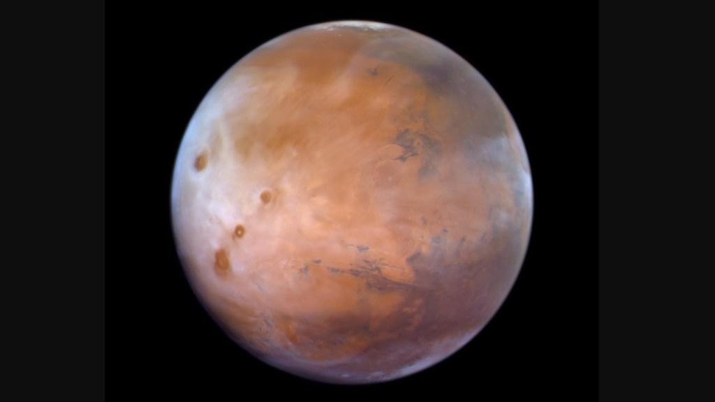 Descubren altas concentraciones de oxígeno en atmósfera de Marte - Descubren altas concentraciones de oxígeno en atmósfera de Marte. Foto de @HHShkMohd
