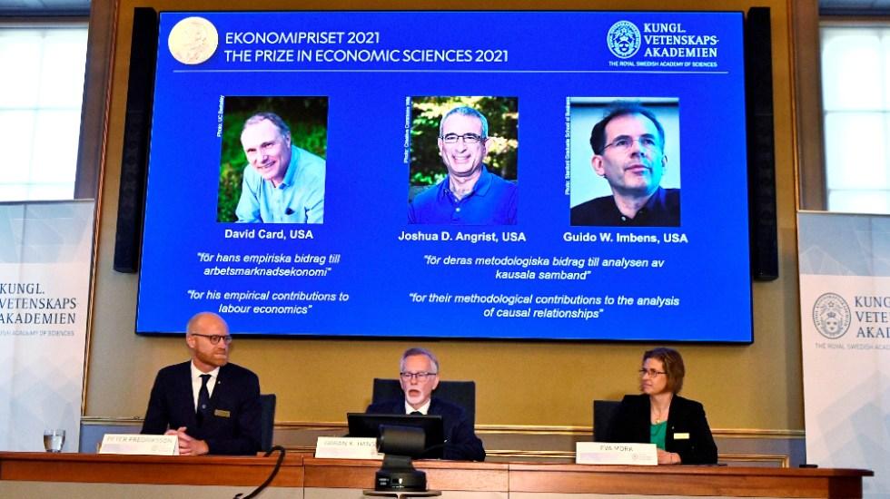 Nobel de Economía a Card, Angrist e Imbens por análisis del mercado laboral - Nobel de Economía 2021 Card Angrist Imbens