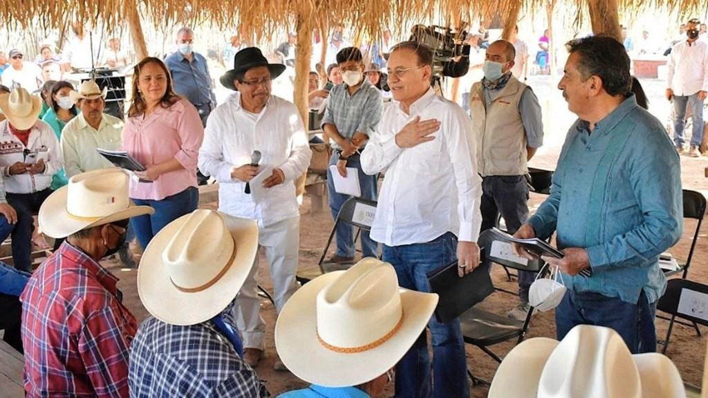 Yaquis logran acuerdo con Gobierno de Sonora por peaje - Yaquis logran acuerdo con Gobierno de Sonora por peaje. Foto de EFE