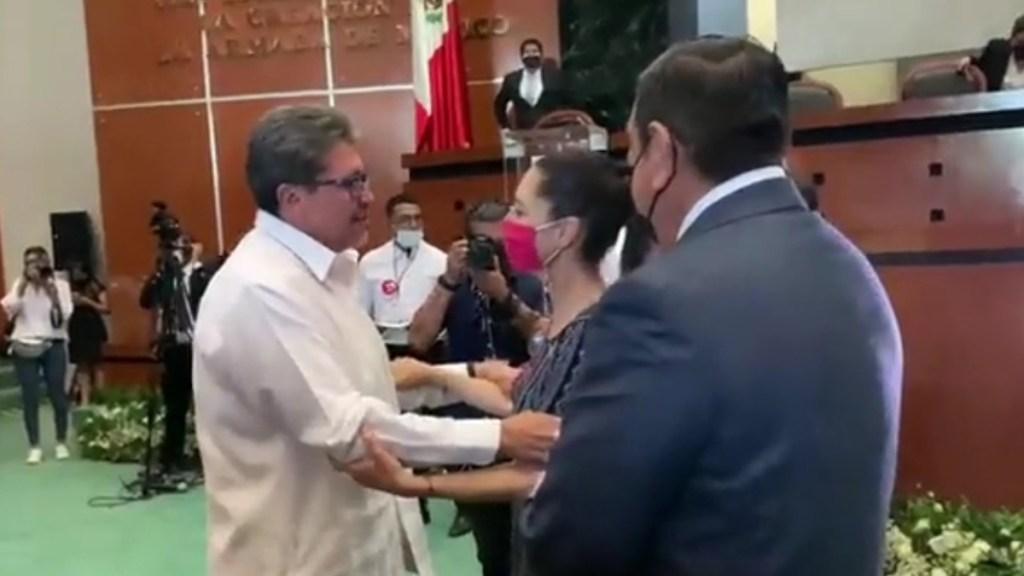 """#Video Se encuentran Sheinbaum y Monreal en Guerrero; """"Yo te busco"""", dijo el senador - Reencuentro Sheinbaum-Monreal"""