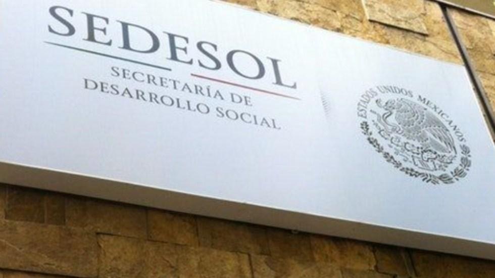 Va a proceso exfuncionario de Sedesol por caso de la Estafa Maestra - Sedesol logo