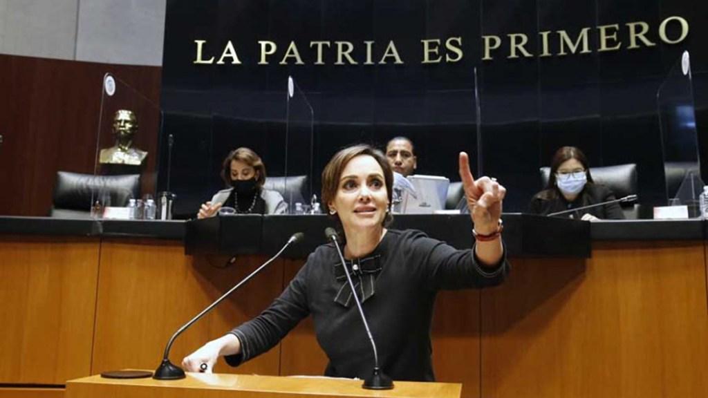 Lilly Téllez denuncia amenazas contra su hijo presuntamente de seguidores del senador José Narro - Senadora Lilly Téllez