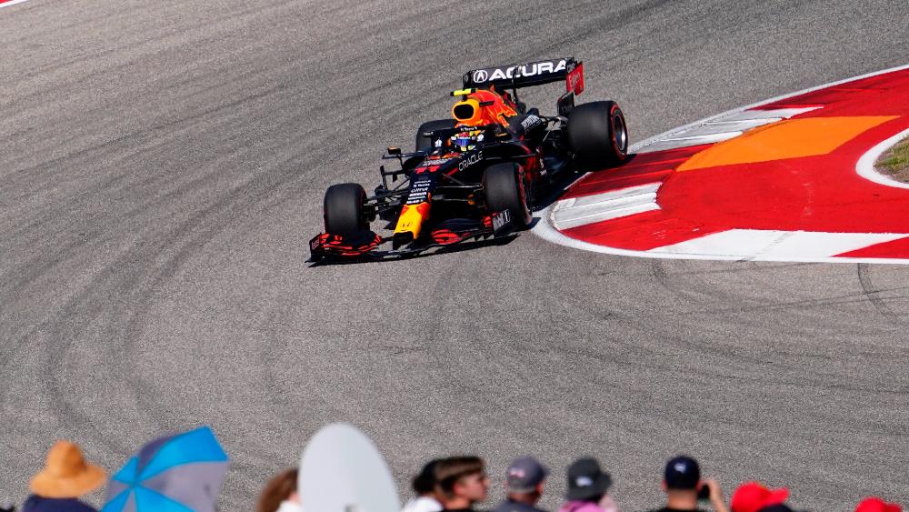 'Checo Pérez' saldrá tercero en el GP de EE.UU; Verstappen se queda con la pole - Sergio Checo Pérez F1 GP EEUU 2021