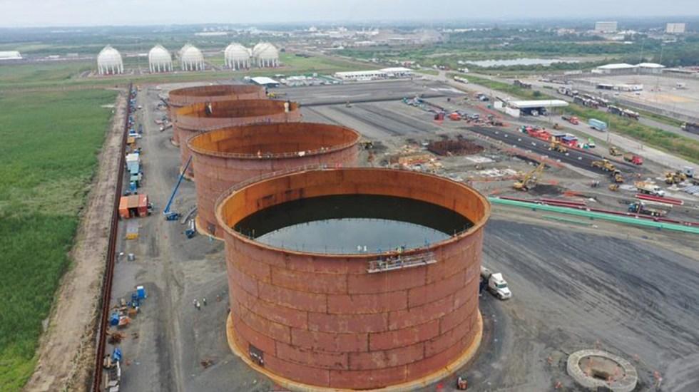 Gobierno de México cerró terminales de combustible de inversión estadounidense - Terminal de fluidos de Monterra Energy en Tuxpan, Veracruz