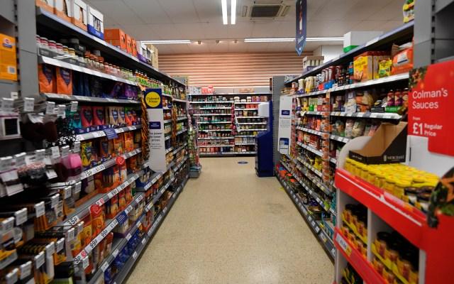 Tiendas en Estados Unidos podrían sufrir escasez de productos - Tienda en Estados Unidos. Foto de EFE