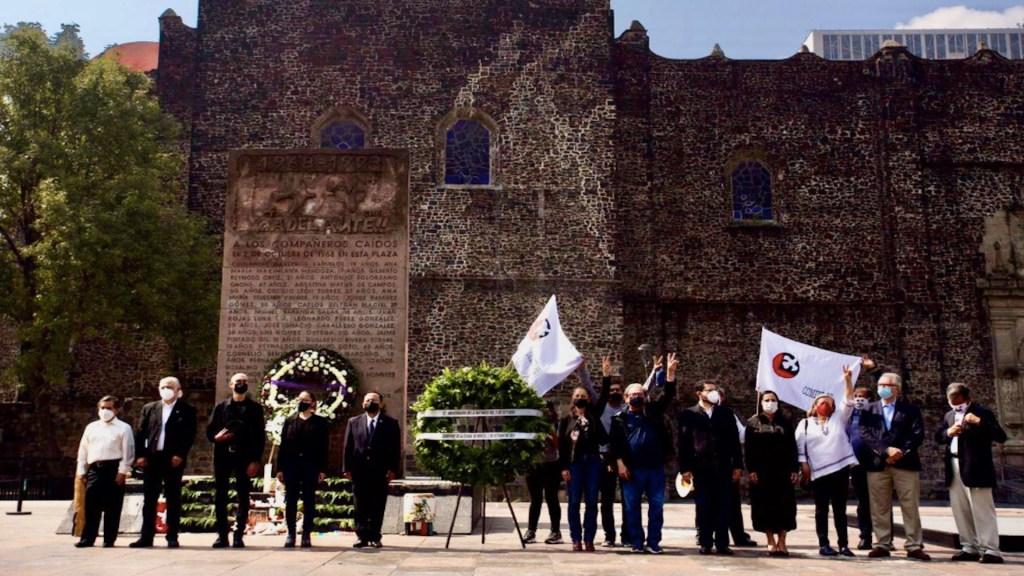 "Masacre de Tlatelolco ""no se olvida, porque si se olvida se repite"", asegura Sheinbaum - Masacre de Tlatelolco"