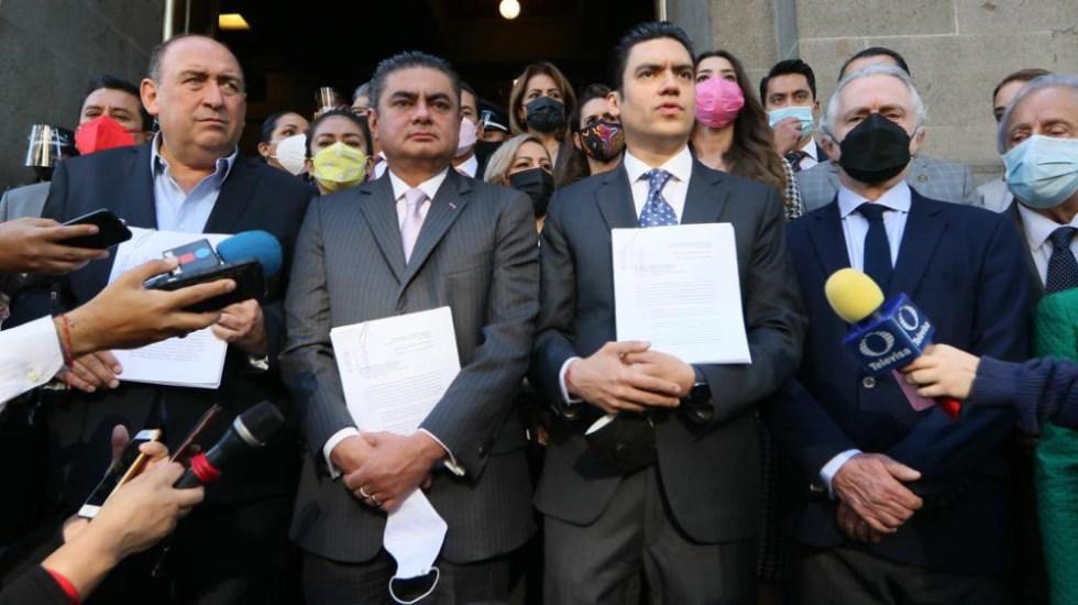 Va por México promueve acción de inconstitucionalidad por revocación de mandato - Va por México inconstucionalidad revocación mandato Corte SCJN
