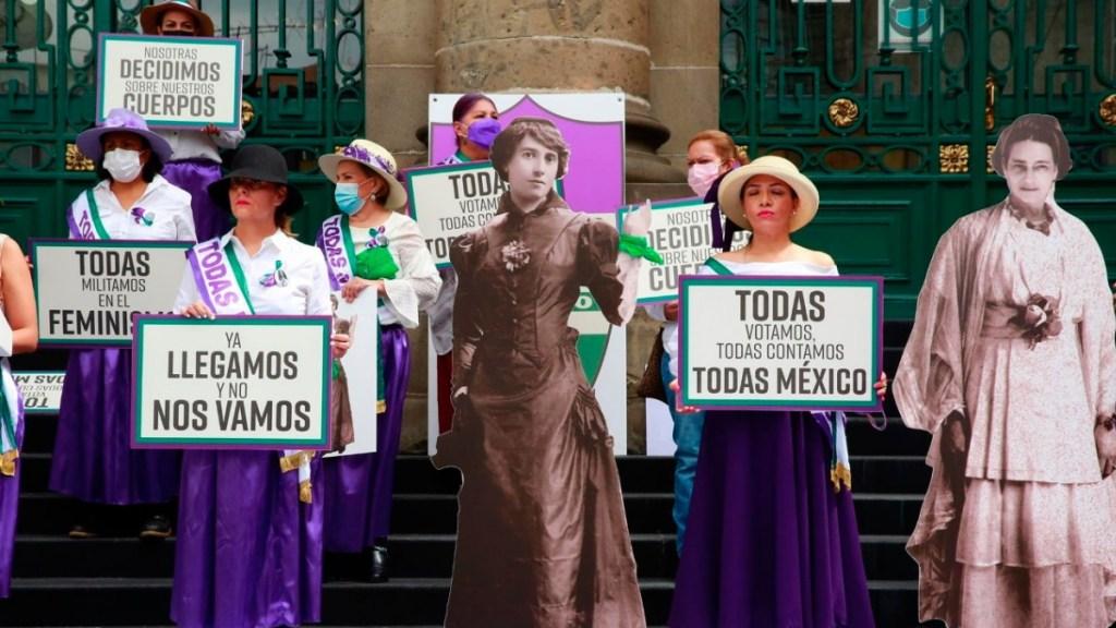 Feministas lanzan la fuerza política 'Todas México' - feministas lanzan Todas México