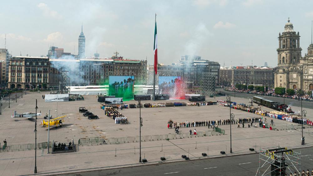 AMLO convoca al Zócalo para conmemorar Revolución Mexicana - Zócalo Revolución Mexicana 2019