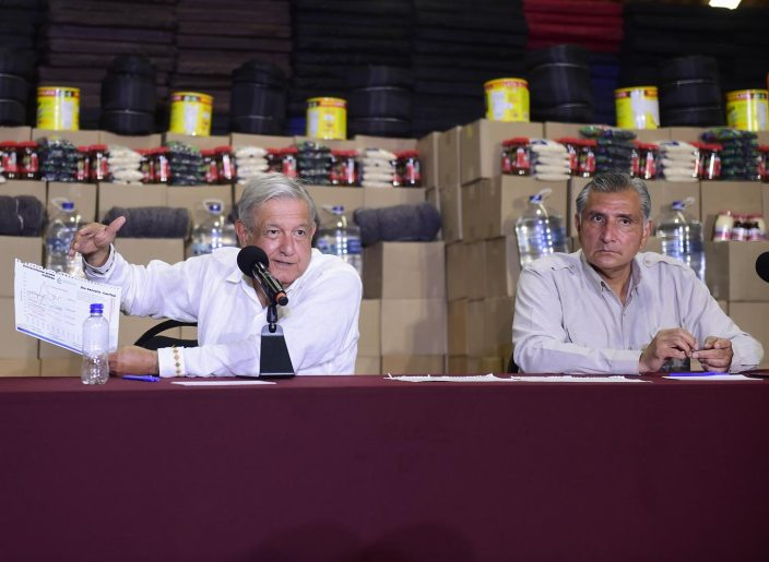 14 11 2020 CONFERENCIA DE PRENSA AVANCES EN LA ATENCION A TABASCO POR INUNDACIONES FOTO 06 - Presidente supervisa en Tabasco atención a damnificados – AMLO #AMLO