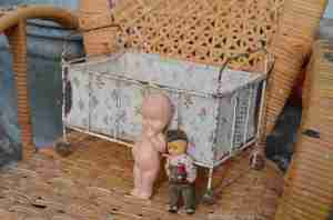 Antik fransk dukkeseng