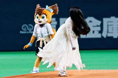 貞子96キロの速球